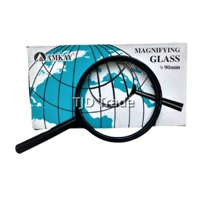 [Aplus] Stationery | 50mm 60mm 75mm 90mm Magnifying Glass Handheld Magnifier Reading